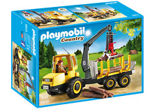 NEW and COMPLETE Playmobil Country - Timber Transporter with Crane 6813