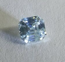 0.80 ct VVS1/WHITE ICE GREEN COLOR LOOSE EMERALD REAL MOISSANITE RING 4 RING