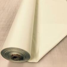 IVORY 3 Pass Black out Blackout Material Thermal Curtain Lining Fabric 137cm