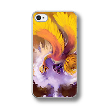 HO-OH POKEMON ART Rubber Phone Case Cover FITS IPHONE 4 5 6 7