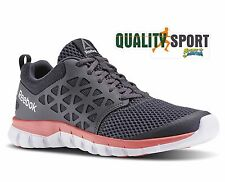 Reebok Sublite XT Cushion 2.0 BD5541 Grigio Scarpe Shoes Donna Sportive Running