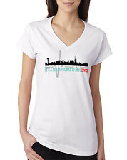Grey's Anatomy V Neck T shirt Greys Quote Beautiful Day To Save Lives Grey White