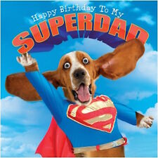 GOGGLIES 3D EYES SUPERDAD BIRTHDAYCARD DOGGY FUNNY HUMOROUS1ST P&P