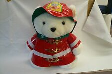 1996 SANTA BEAR FIREMAN  FROM THE JL HUDSON COMPANY