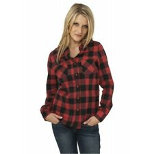 Ladies Checked Flanell Shirt - camicia di cotone-Urban Classics
