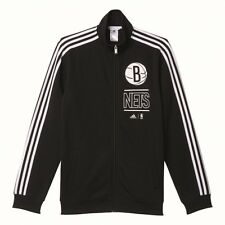 FELPA ADIDAS BROOKLYN NETS TRACK TOP-ADIDAS