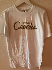 Crooks & Castles - Team Crooks T-Shirt (WHT) - Skate, Streetwear, RRP £30+ NEW!