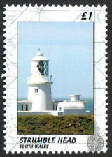 GB Locals: Strumble Head Lighthouse South Wales PERF Stamp 1v Un. Mint