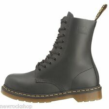 Dr Martens Icon7A Genuine Industral New Black 10 Eye Mens Leather Icon Boot Rock