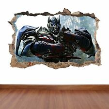 Transformers hole in the wall full colour feature sticker decal kids
