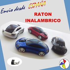 Raton Optico Inalambrico (Wireless), Forma Coche Porsche Deportivo
