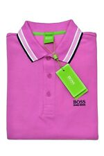 HUGO BOSS POLO UOMO REGULAR-FIT MOD. PADDY IN PIQUE' COLORE PINK