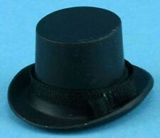 Dollhouse Miniature Black Top Hat by Multi Minis