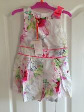 Stunning Ted baker girls Floral playsuit with sizes. BNWT. Designer