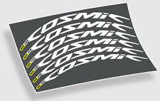 2016 Mavic Cosmic Pro Carbon style wheel decals stickers for 700c 52mm wheels