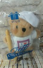 AVON Gift Collection Plush Bear Pastime Pals Chef Cooking Bear Plush Toy NEW