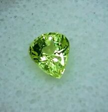 1.30ct. NATURAL NEON GREEN CHRYSOBERYL AMAZING GLOWING COLOR AND VVS CLARITY
