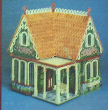 COVENTRY COTTAGE victorian DOLLHOUSE miniature doll house WOOD KIT greenleaf