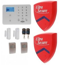 KP9 GSM ALARM KIT E WITH 2 X DUMMY ALARM BOXES