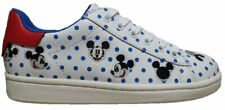 MOA MASTER OF ARTS MDJ 17 ACTION LEATHER WHITE BLUE DOTS SNEAKER TOPOLINO POIS B