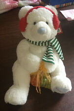 New 2015 Godiva Holiday Plush Teddy Bear with Chocolates and with Tags
