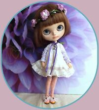 """Victorian pink shoe with lacy bow for 12"""" JOINTED BODY Blythe doll*please select"""