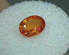 2.20ct. Fanta Orange Spessartite Garnet Fire color! Beautiful sparkle Orange