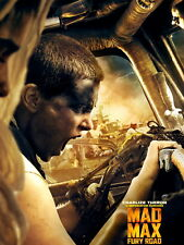 Mad Max Fury Road Imperator Furiosa Charlize Theron Giant Print POSTER Affiche