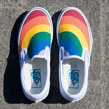 Vans Classic Slip - On (Rainbow) True White