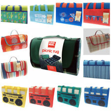 LARGE WATERPROOF PICNIC BLANKET FOLDABLE CAMPING TRAVEL BBQ OUTDOOR BEACH MAT