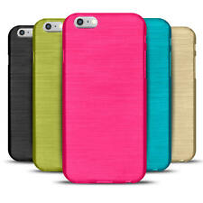 Hülle für Apple iPhone 6 / 6S Cover Silikon Handy Case TPU Schutzhülle Brushed