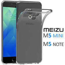 COVER Custodia TRASPARENTE Gel Silicone TPU Morbida Per MEIZU M5 MINI / M5 NOTE