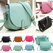Women Leather Shoulder Bag Clutch Handbag Tote Purse Messenger Crossbody Bag