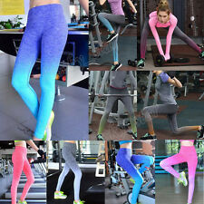 Women Gym Running Exercise Yoga Sports Fitness Stretch Pants Trousers Leggings
