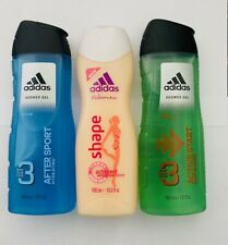 ADIDAS BODY HAIR & FACE SHOWER GEL 250ML 10 TYPES (PACK OF 6) or 6 Mix