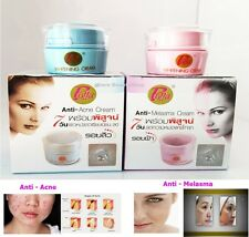 POLLA FACIAL WHITENING CREAM ANTI ACNE MELASMA DARK SPOT DAY & NIGHT SKIN CARE