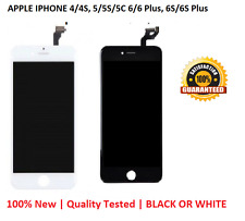 LCD DISPLAY FOR IPHONE 4/4S, 5/5S/5C 6/6 Plus, 6S/6S Plus DIGITIZER ASSEMBLY