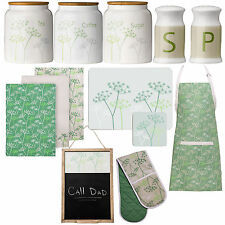 Cow Parsley Kitchen Accessories Kitchen Storage Canisters Oven Glove Dining Sets