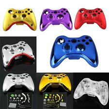 Kit Cover Custodia Cromato + Tasti da Ricambio per XBOX 360 Wireless Controller