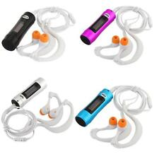 OLED MP3 Lettore 4GB Impermeaible in Alluminio per Sport Nuoto Corsa Jogging