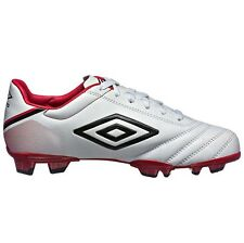 ae62bc789 Umbro Classico V JUNIOR FOOTBALL BOOTS White Black Red - Size US 6