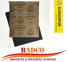 WET and DRY Sandpaper GRIT 60 - 2500 KLINGSPOR - MIXED or YOU CHOOSE