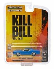 1971 DODGE CHARGER from the classic film KILL BILL Greenlight Collectibles 1:64