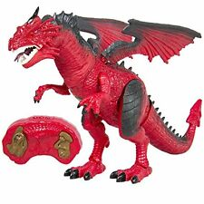 Best Choice Products Remote Control RC Dragon Walking Dinosaur Lights & Sounds