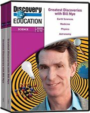 Discovery Education Greatest Discoveries with Bill Nye DVD Series (Set of 7)