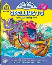 School Zone Publishing Spelling 1-2 Software And Workbook