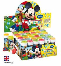 Disney MICKEY MOUSE Kids BUBBLE TUBS Minnie Party Favors Bag Fillers WAND + MAZE