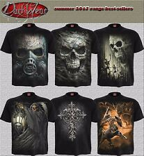Spiral Direct 2017 DESIGNS Skull/Dragon/Reaper/Rock/Metal/Halloween/T shirt/Top
