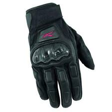 Guanto Moto sportivo in Pelle Regulator A-Pro – Nero-