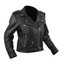 Giacca Moto Donna in Pelle Queen Lady A-Pro Nero